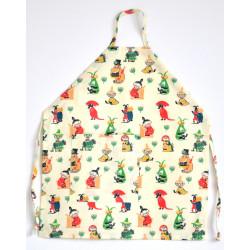 Moomin Children Apron 50's...