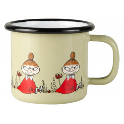 Moomin Enamel Mug Friends Little My 0.15 L Muurla