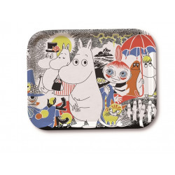 Moomin Birch Tray Comic 27 x 20 cm