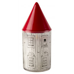 Moomin Candle with Extinguisher Moomin House 17 cm Muurla