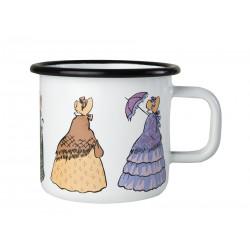 Elsa Beskow Enamel Mug Aunts 0.37 L Muurla