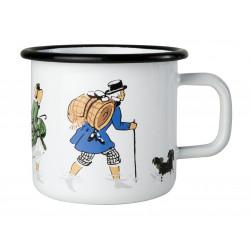 Elsa Beskow Enamel Mug Walk 0.37 L Muurla