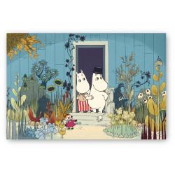 Moomin Poster Riviera Doorstep Optodesign 50 x 70 cm