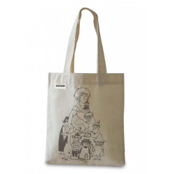 Moomin Tote Bag Tove and Her Characters Optodesign