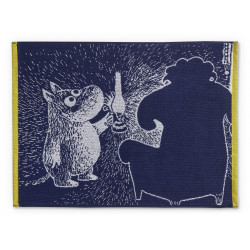 Moomin Hand Towel Ancestor Dark Blue 50 x 70 cm Finlasyon