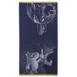 Moomin Bath Towel Ancestor Dark Blue 70 x 140 cm Finlayson
