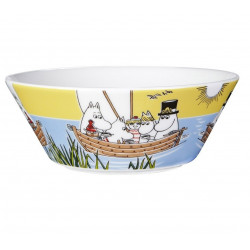Moomin Bowl Sailing with Nibling and Tooticky Seasonal Summer 2014