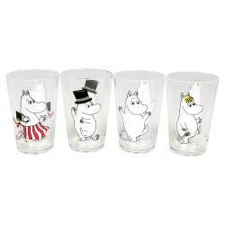 Moomin Children Plastic Tumblers 4 pcs