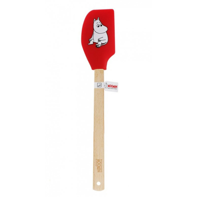 Moomin Silicone Large Spatula Moomintroll Red 32 cm Martinex