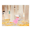 Moomin Tove 100 Greeting Card with Envelope November Forest