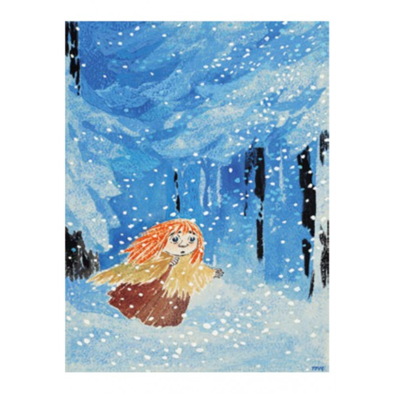 Moomin Tove 100 Greeting Card with Envelope Miffle