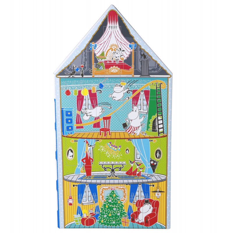 Moomin Christmas Advent Calendar with Toys Moomin House 2017 Martinex
