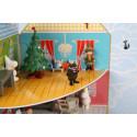 Moomin Christmas Advent Calendar with Toys Moomin House 2017 Martinex