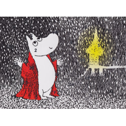 Moomin Advent Moomintroll Calendar A4 22 x 29 cm