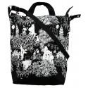 Moomin Mabel, Festive Moment Canvas Bag 37 x 40 x 10 cm