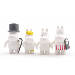 Moomin Plastic Figures 4 pcs