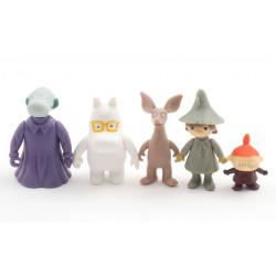 Moomin Plastic Figures 5 pcs