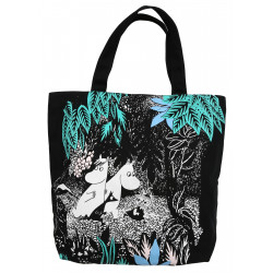 Moomin Nana Bag, Forest Moomin Canvas 40 x 38 x 10 cm