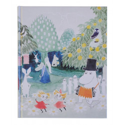 Moomin Notebook Tove 100 Magician Hat 128 Blank Pages Putinki