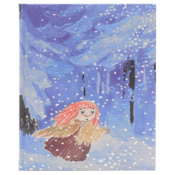 Moomin Notebook Tove 100 Miffle in Winter Forest 64 Blank Pages