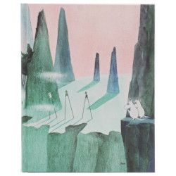 Moomin Notebook Tove 100 Moomintroll and the Comet 128 Blank Pages Putinki