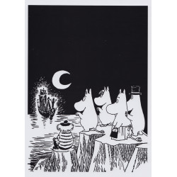 Moomin Poster 24 x 30 cm Tooticky and Moomin Family