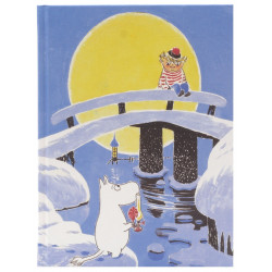 Moomin Notebook Tove 100 Magic Winter Too Ticky 128 Blank Pages Putinki