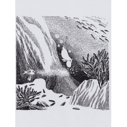 Moomin Poster 24 x 30 cm from Moomintroll and the Comet Diving Moomintroll