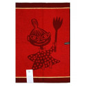 Moomin Terry Towel Little My Dark Red 50 x 70 cm Finlayson