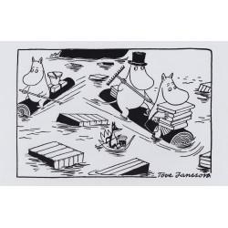 Moomin Poster 24 x 30 cm Hub Sailing