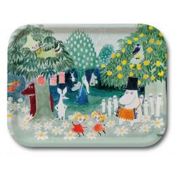 Moomin Birch Tray Moominvalley Magician's Hat 20 x 27 cm Optodesign