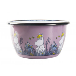 Moomin Enamel Bowl Friends...