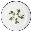 Moomin Enamel Plate Friends Green 24 cm Muurla