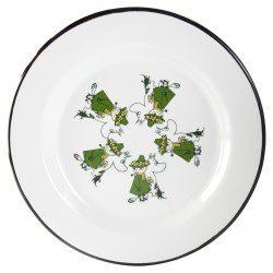 Moomin Enamel Plate Friends...