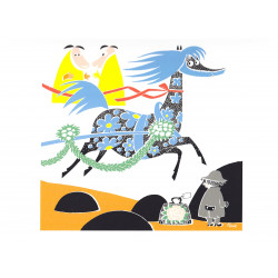 Moomin Poster Horse and...