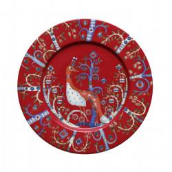 Taika Plate Red 22 cm
