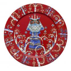 Taika Plate 27 cm L Red Iittala