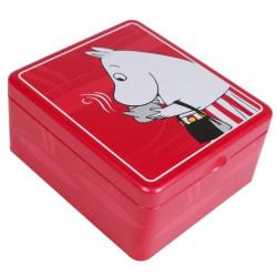 Moomin Tea Tin Box Moomminmamma Red