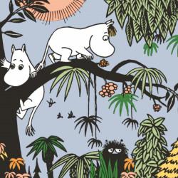 Moomin Paper Napkins Jungle 20 pcs 33 cm