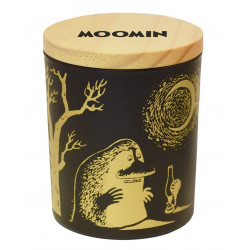 Moomin Groke Scented Candle in Glass Jar with Lid
