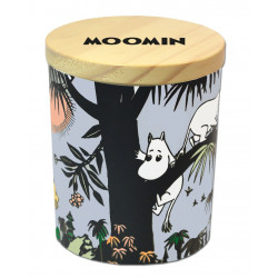 Moomin Jungle Scented Candle in Ceramic Jar with Lid