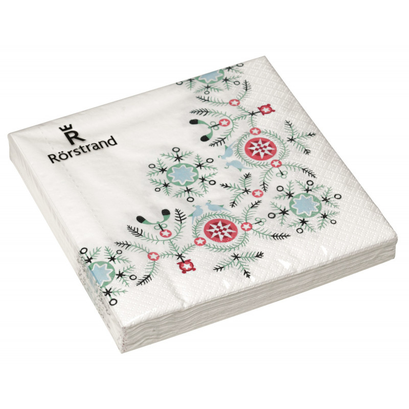 Swedish Grace Winter Paper Napkins The Snow Queen 20 pcs 33 cm