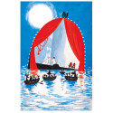 Moomin Tove 100 Greeting Card with Envelope Dangerous Midsummer