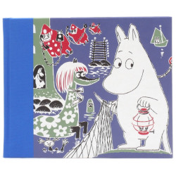 Moomin Hardcover Notebook Moomintroll 128 Blank Pages Putinki
