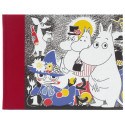 Moomin Hardcover Notebook Moomin Family 128 Blank Pages Putinki