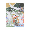 Moomin Exercise Notebook 48 Faintly Ruled/Blank Pages Putinki