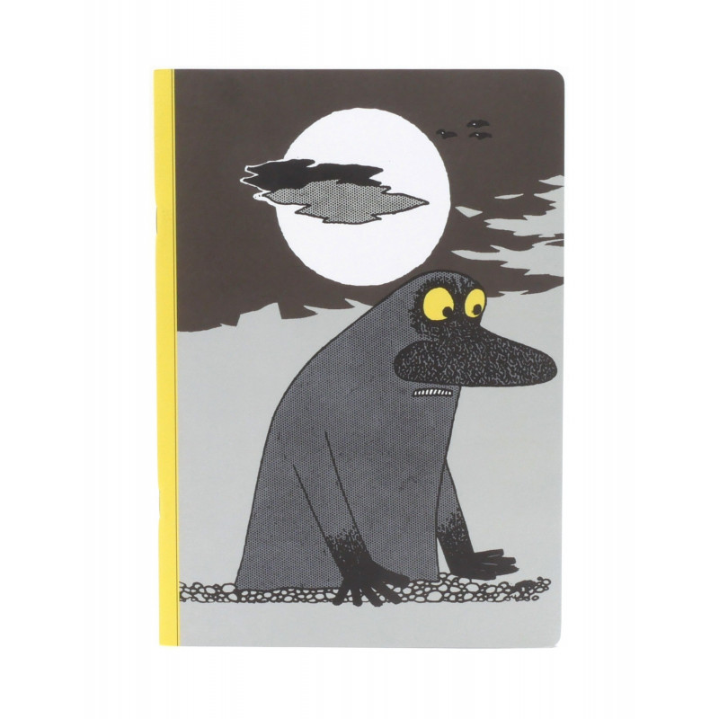 Moomin Groke Exercise Notebook 64 Faitly Ruled Pages Putinki