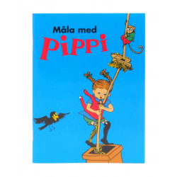 Pippi Coloring Book 16 Sheets