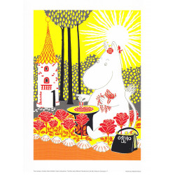 Moomin Poster Moominmamma Tove Jansson 24 x 30 cm