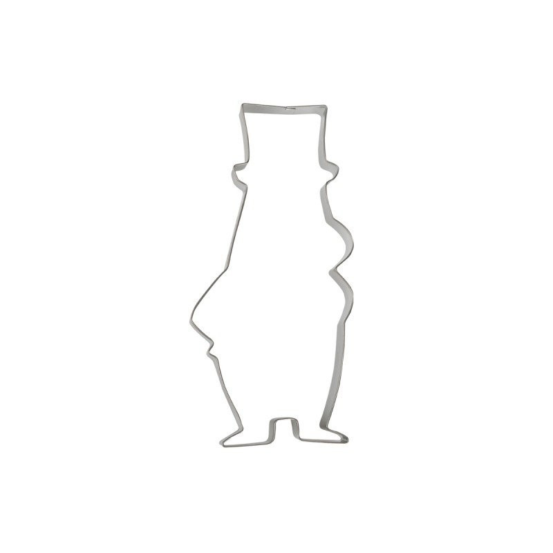 Moomin Mini Cookie Cutter Moominpappa 10 cm